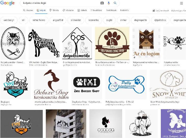 Kutyakozmetika logó ötletbörze saját logó készítéshez ötletek